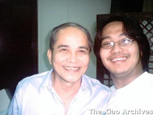 Anak ni Ponce:  Historical columnist Jaime B. Veneracion kasama si Xiao Chua.