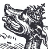Ang antikristo na may tatlong korona, pinapatamaan ang papa.
