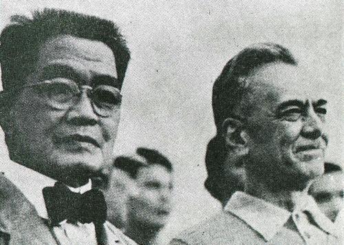 Emilio Aguinaldo at Manuel Quezon.