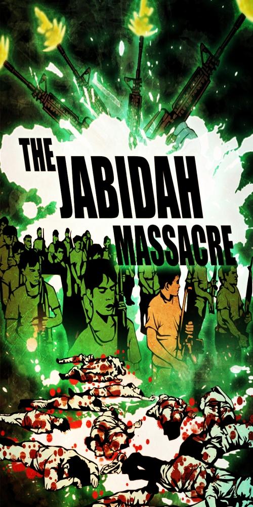 Ang poster ng Crime Klasik episode ng Aksyon TV ukol sa Jabidah Massacre kung saan naging tagapagsalaysay si Xiao Chua kasama si Maritess Vitug.
