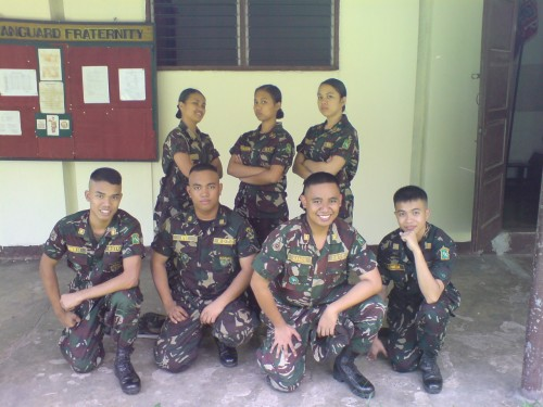 Si John Ray Ramos at UP Vanguard Class Matalab 2009.