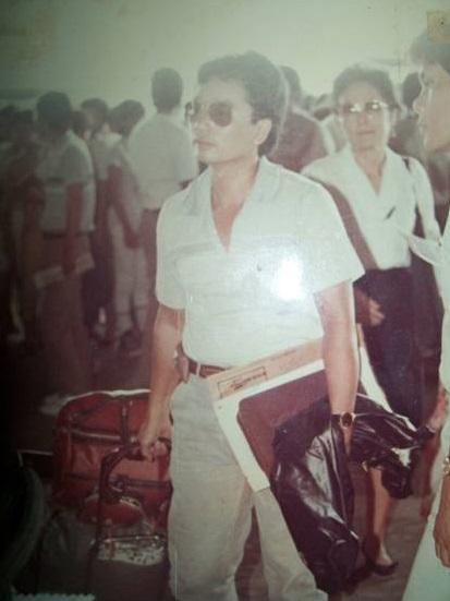 """Si Gavino """"Jun"""" Manlutac, Jr., isang pangkaraniwang OFW patungong Iraq noong Dekada 1980s.  Uncle ko siya."""