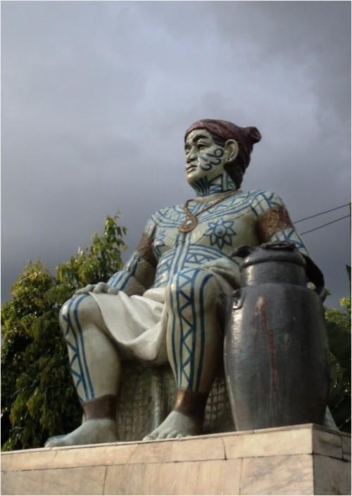 Monumento ni Rajah Humabon sa Cebu.
