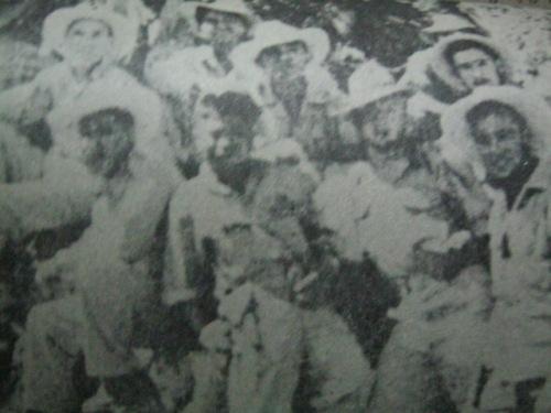 Ang mga matatapang na gerilya sa Cebu.  Mula kay Col. Manuel Segura.