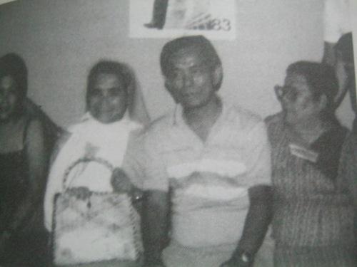 Kasama si Nanay Juling Ouano (kanan) na naging kaibigan ni Nene sa kulungan sa Cebu.
