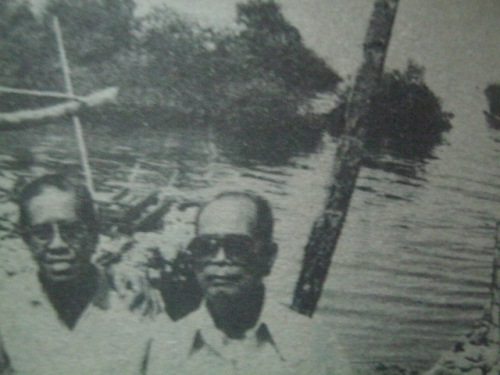 Banda rito bumagsak ang eroplano ni Koga sa Timog Cebu.  Mula kay Col. Manuel Segura.