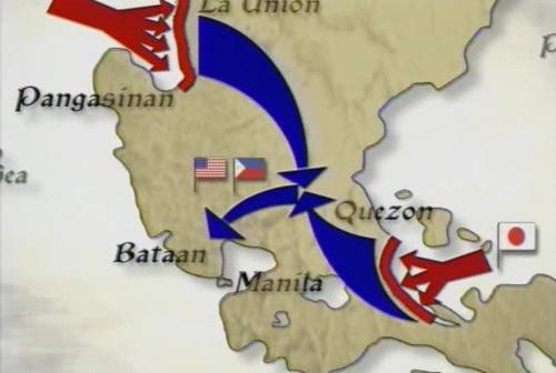 War Plan Orange 3, magtipon lahat ng pwersang Pilipino-Amerikano upang ma-frustrate ang mga Hapones at harangan ang bukana ng Manila Bay.  Ito ang War Plan Orange 3.