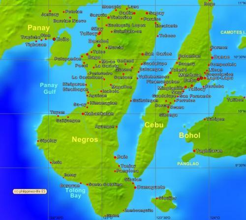 18 itinawid ng dagat patungo sa Negros Oriental
