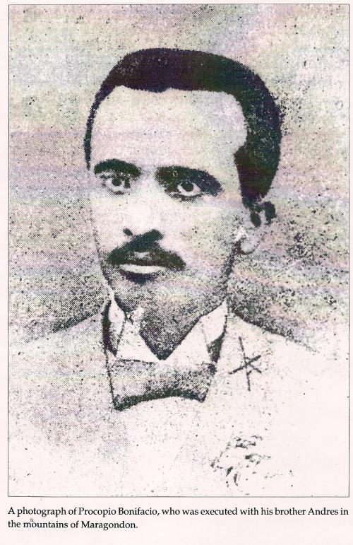 Procopio Bonifacio.  Mula kay Isagani Medina sa Great Lives Series.