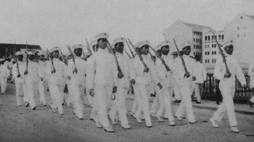 Mga kadete ng UP, 1917.