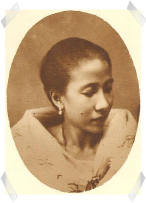 Gregoria de Jesus.  Mula sa opisyal na bahay-dagitab ng Bahay Nakpil-Bautista.