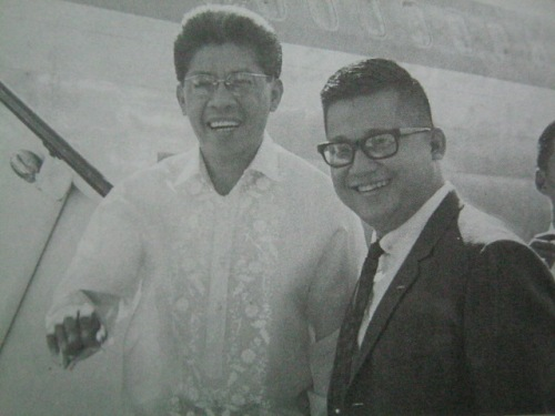 Si Ninoy at Gerry.  Mula kay Senador Jovito Salonga.
