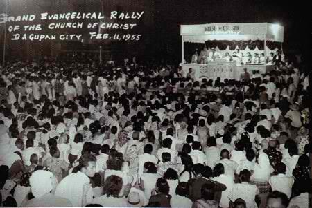 Noon pa man, makikita na ang dami ng mga kasapi at impluwensya ng INC sa Dakilang Pamamahayag nito  noong February 11, 1955 sa Lungsod ng Dagupan.  Mula sa http://www.iglesianicristowebsite.com/