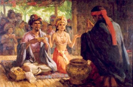 Early Sulu Wedding.  Nasa Ayala Museum.