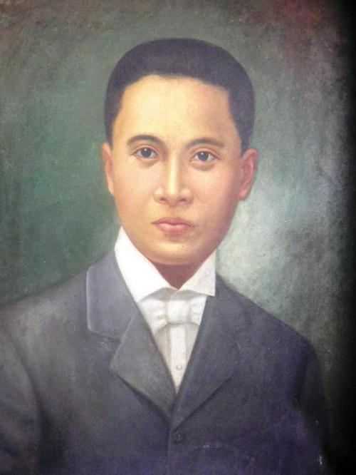 Ang portrait ni Pio Valenzuela bilang punongbayan ng Pulo.