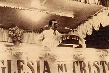 Ang Ka Felix bilang isang epektibong tagapagsalita sa isang mamamahayag.  Mula sa http://www.iglesianicristowebsite.com/