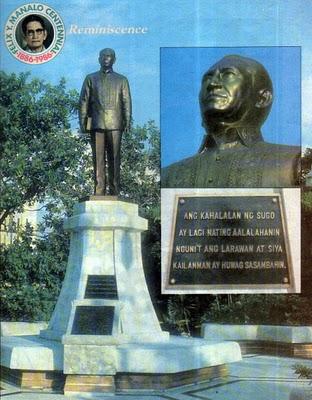 Ang Monumento ng Ka Felix Manalo.