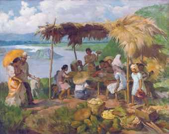 Dinner in the Sun, may Bulkang Taal naman.
