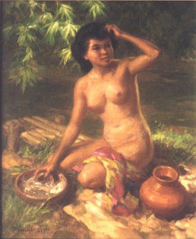 Bathing, 1931
