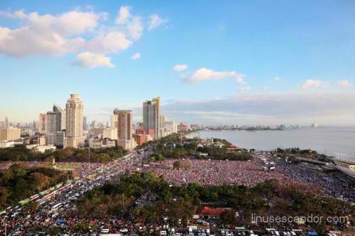Ang grand evangelical mission ng Iglesia ni Cristo ng Rizal Park sa Luneta noong February 28, 2012.
