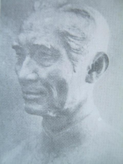 Busto ni Balagtas ni Guillermo Tolentino.  Mula sa Himalay.