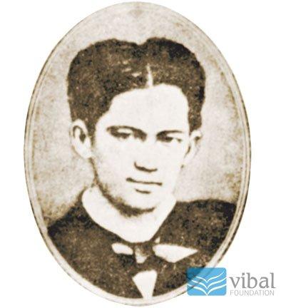 Si Pepe Rizal bilang binatilyo.  Mula sa Vibal Foundation.