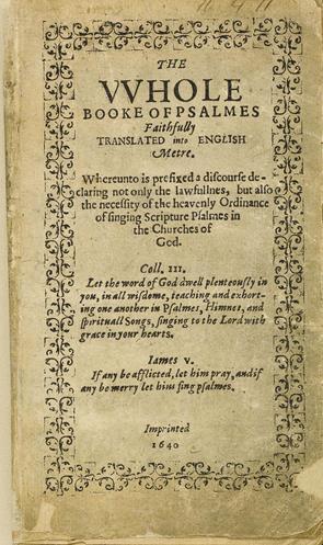 Ang unang aklat na inilimbag sa Amerika noong 1640 na inilathala ng Cambridge Press na itinatag noong 1638.