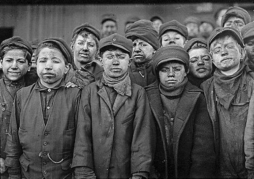 Mga child laborers sa Europa.