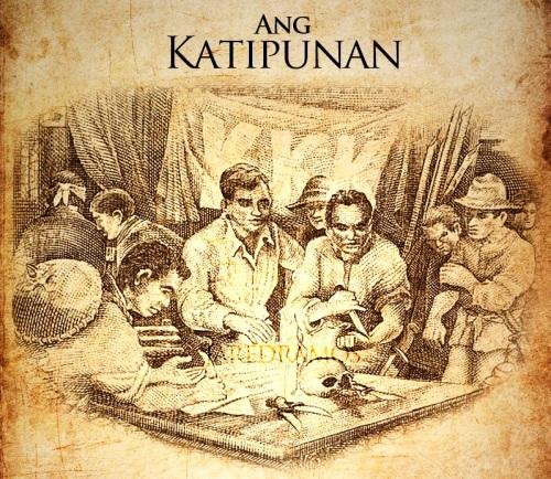 Pagsasandugo sa Katipunan.  Mula sa Bangko Sentral ng Pilipinas.