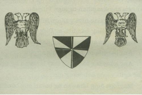 Ang watawat ng Rebelyon ni Diego Silang, 1762.  Mula kay ian Christopher Alfonso.
