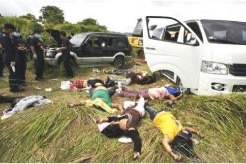 Election Related Violence:  Ampatuan Massacre, 2009.