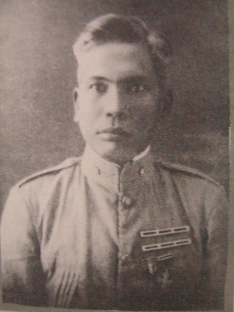 Heneral Guillermo Masangkay.  Mula sa Koleksyon Masangkay.