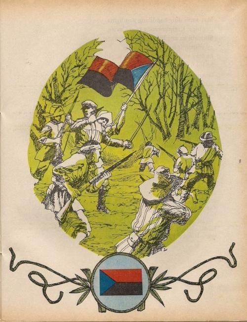 Si Gregorio del Pilar at ang kanyang bandila.  Iginuhit ni Jose Prado para sa Adarna.