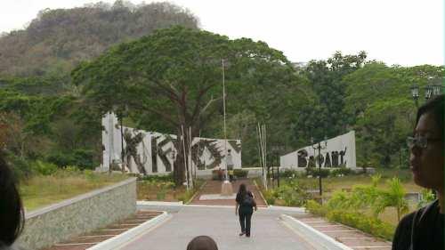 Ang Hulog, Mt. Nagpatong ngayon.  Sa monumentong obelisk natagpuan ang mga buto.