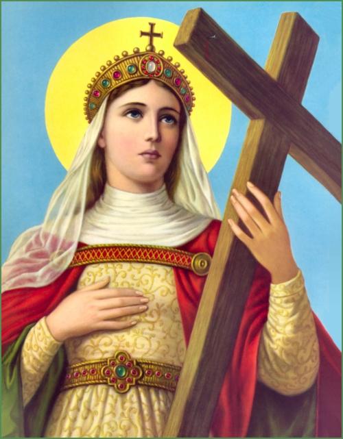 Sta. Elena, o St. Helen.  Mula sa catholictradition.org.