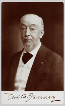 Firmadong larawan ni William LeBaron Jenney.