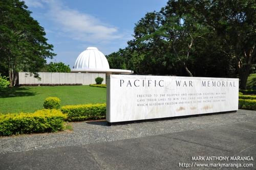 47 sa Pacific War Memorial nito ay tumatama