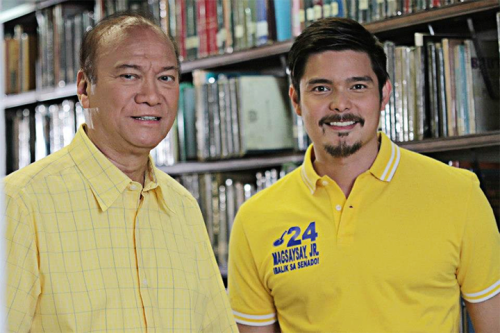 Si JunMag at si Dingdong Dantes.