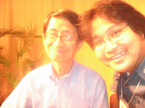 Xiao Chua at si Dr. Fernando Nakpil Zialcita, Pamantasang Ateneo de Manila, July 24, 2008.
