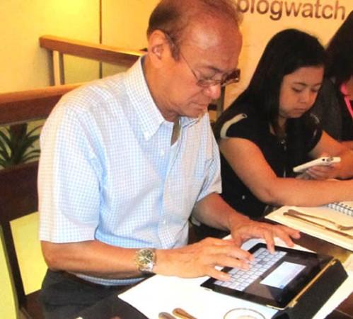 "Jun Magsaysay, original ""techie."""
