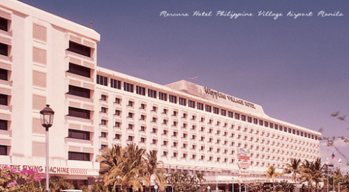 Ang Philippine Village Hotel.