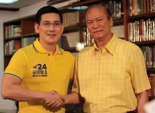 "Si JunMag at si ""Ser Chief"" Richard Yap."