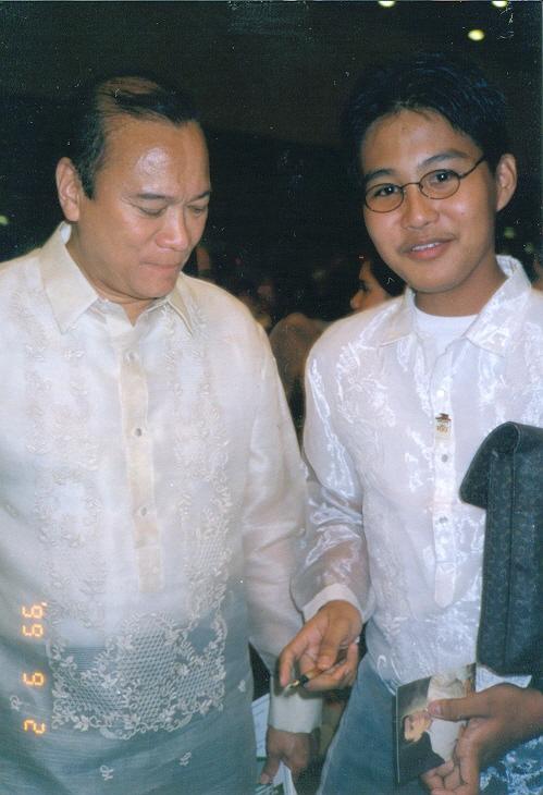 Si JunMag at si Ser Xiao, 1999.
