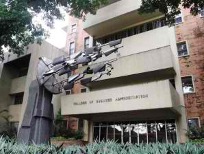 Cesar E. A. Virata School of Business.  Dating UP College of Business Administration.  Mula sa Philippine Daily Inquirer.