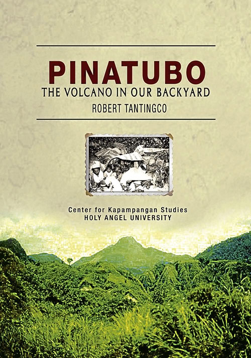 Pabalat ng Pinatubo:  The Volcano on our Backyard ni Robert Tantingco.
