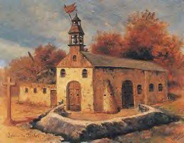Isang paglalarawan ng Simbahan ng San Luis Obispo de Tolosa sa Baler sa panahon ng mga kaganapan noong 1898-1899.