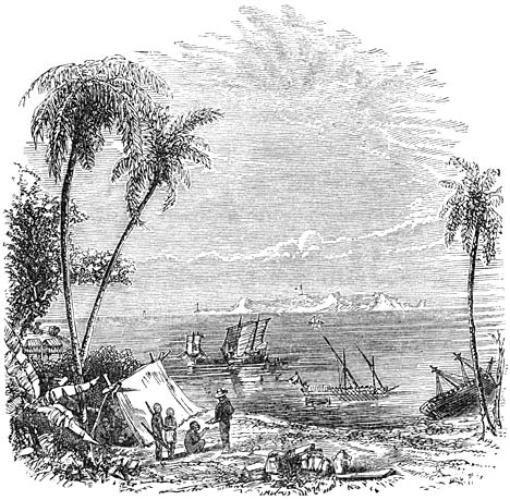 """Ang delta o """"alog"""" ng Manila Bay at Pasig River.  Mula sa Wikipedia, 1800s."""