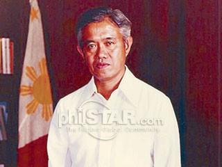 Finance Minister at Prime Minister Cesar Emilio Aguinaldo Virata.  Mula sa The Philippine Star.