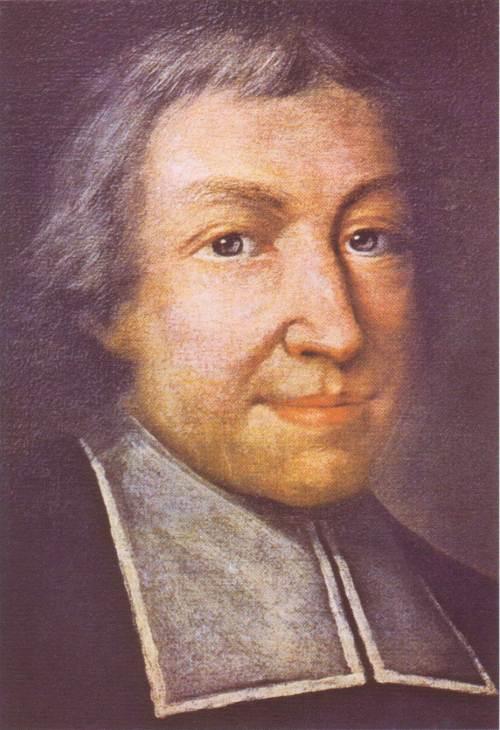 Ang opisyal na paglalarawan kay San Jean Baptiste de la Salle, obra maestra ni Pierre Leger.