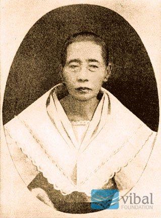 Teodora Alonso de Rizal y Quintos.  Mula sa Vibal Foundation.